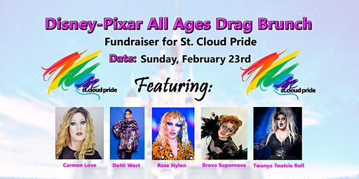 Disney-Pixar All Ages Drag Brunch – A Fundraiser for St. Cloud Pride