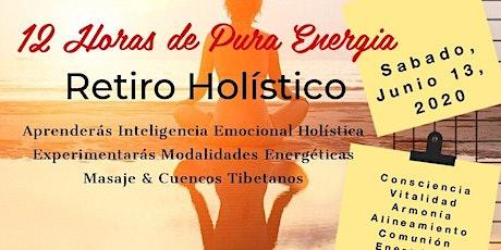 Retiro Holistico: Inteligencia Emocional Holística© // 12 Horas de Pura Energía entradas