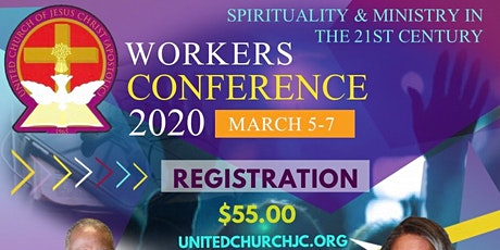 UCJC 2020 Workers Conference tickets