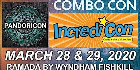Incredicon / Pandoricon  tickets