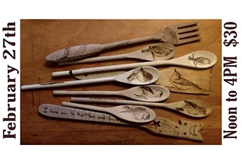 Woodburning Kitchen Utencils with Joanna Walitalo tickets