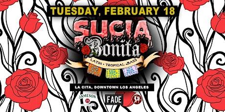 Sucia Bonita (Latin Bass night) tickets