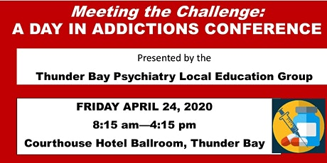 'Meeting the Challenge': A Day in Addictions tickets