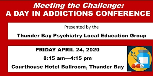 'Meeting the Challenge': A Day in Addictions