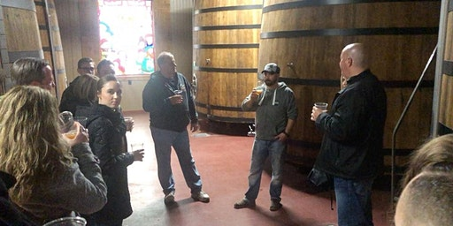 February Brewhouse & Barrel Room Tour