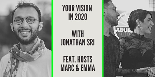 """Your Vision in 2020"" with Jonathan Sri"