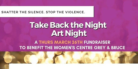 Take Back The Night: Art Night! tickets