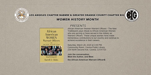 African American Women Warrant Officers Book Presentation