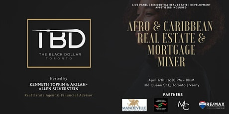 AFRO & CARIBBEAN REAL ESTATE & MORTGAGE MIXER tickets