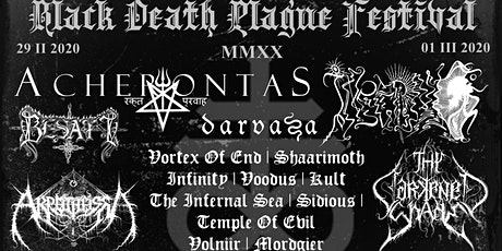 Black Death Plague MMXX Festival tickets
