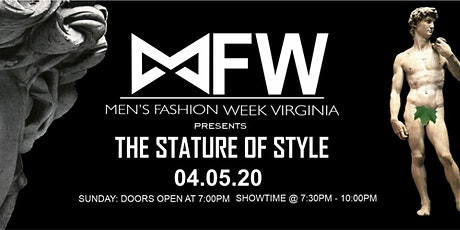Men's Fashion Week Virginia Present The Stature of Style tickets