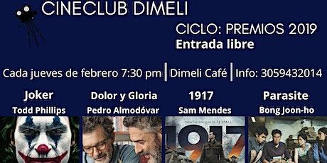 Cine Club entradas