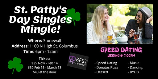 BEST Lesbian St. Patty's Day Singles Party