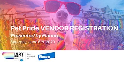 Pet Pride Presented by Elanco Vendor Registration 2020
