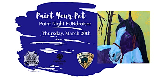 Paint Your Pet for Friends of Madison Mounted Horse Patrol