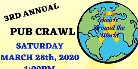 Swirls Around the World 3rd Annual Pub Crawl tickets
