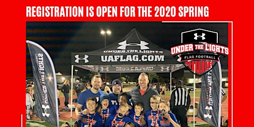Under Armour Under the Lights Youth Flag Football League - Spring 2020 League!