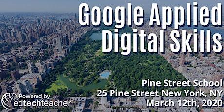 Google Applied Digital Skills (New York, NY) - March 12, 2020 tickets