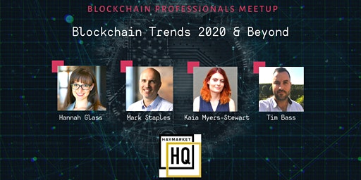 Blockchain Trends 2020 and Beyond