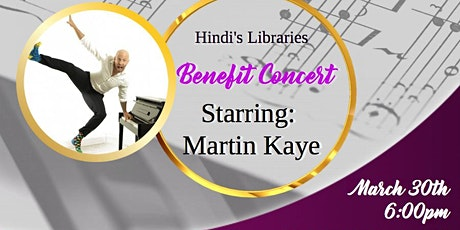 Hindi's Libraries Benefit Concert tickets