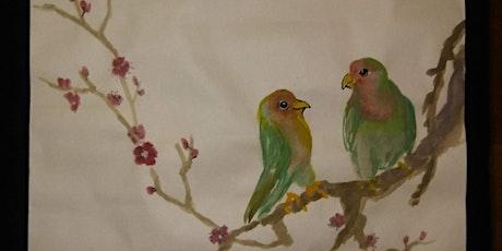 Free Asian Brush Painting/Sumi-e Class tickets