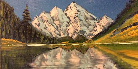 Bob Ross Oils Class Sun March 15th 9:00am - 3:00pm $70 Includes Materials tickets