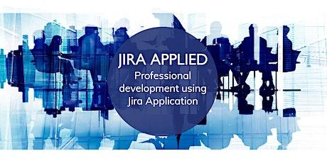 JIRA APPLIED.  Professional development using Jira Application (workshop) tickets