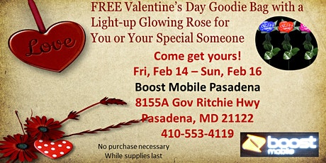 Valentine's Day Goodie Bag Giveaway tickets