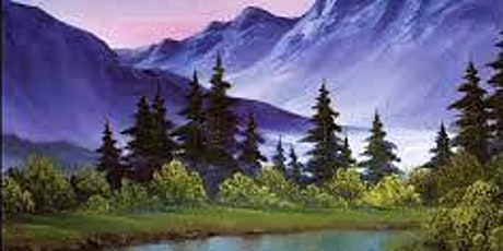 Bob Ross Oils Class Mon March 23rd 9:00am - 3:00pm $65 Includes Materials tickets