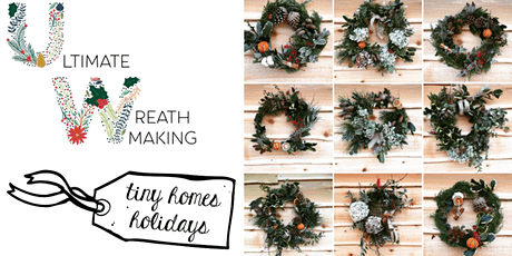 Natures Bounty Christmas wreath making workshop tickets
