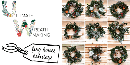 Natures Bounty Christmas wreath making workshop