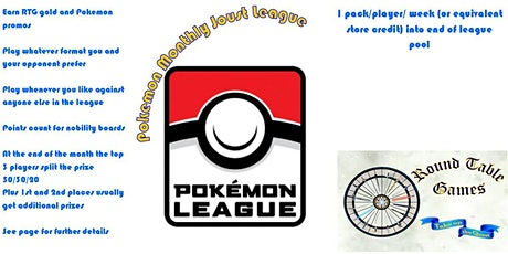Pokemon February Joust League at Round Table Games tickets