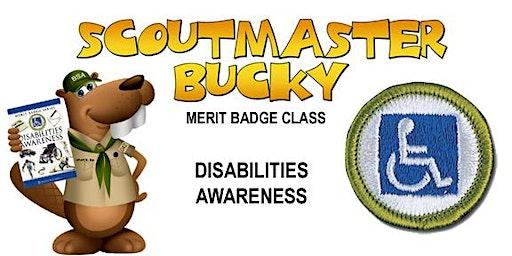 Disabilities Awareness Merit Badge - 2020-03-28 - Saturday PM - Scouts BSA