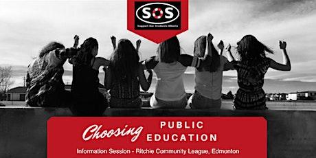 SOS Alberta: Choosing Public Education Advocacy - Edmonton Event tickets