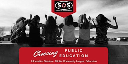 SOS Alberta: Choosing Public Education Advocacy - Edmonton Event
