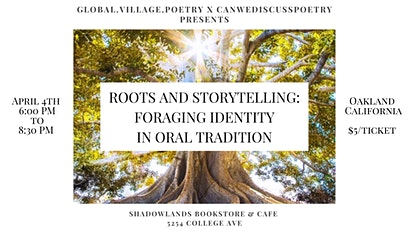 Roots of Storytelling tickets