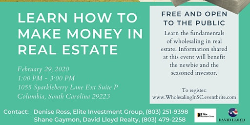 Learn How to Make Money in Real Estate