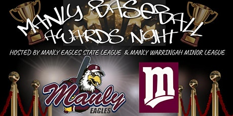 Manly Baseball Awards Night tickets