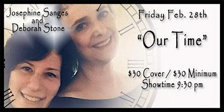 Deborah Stone and Josephine Sanges tickets