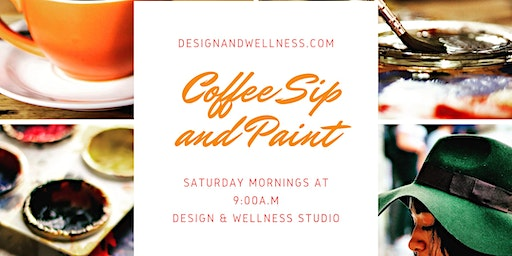 Coffee Sip and Paint