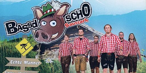 Hüttengaudi mit Bassd SchO - der Partyband aus Franken