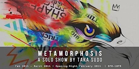 Metamorphoses - A solo show by Taka Sudo  tickets