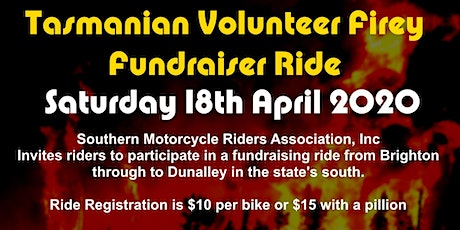 Tasmanian Volunteer Firey Fundraising Ride tickets