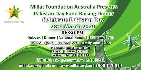 Pakistan Day Fund Raising Dinner 2020 tickets