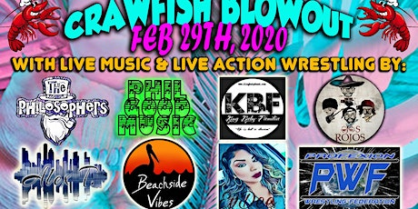 Good Vibes Radio Crawfish Blowout tickets