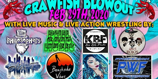 Good Vibes Radio Crawfish Blowout