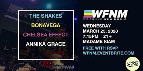 The Shakes / BONAVEGA / Chelsea Effect / Annika Grace tickets