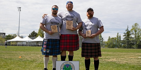 157th Victoria Highland Games- Heavy Events registration tickets