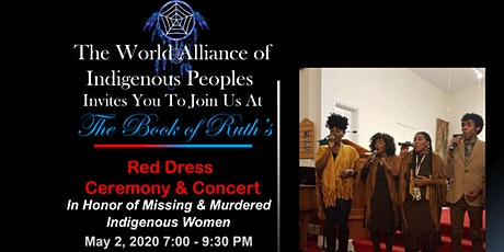 The Book of Ruth's- Red Dress Ceremony & Concert! tickets