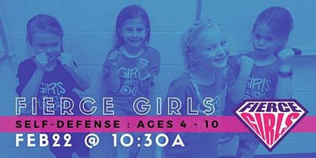 Fierce Girls : Self-Defense for Girls Ages 4-10 tickets